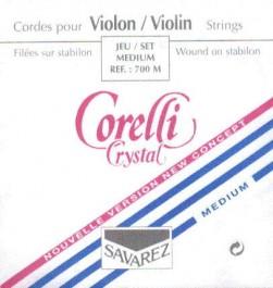 Juego cuerdas Violín 3/4 Corelli Crystal
