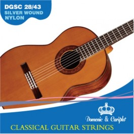 Cuerdas DGSC 28/43 guitarra clásica