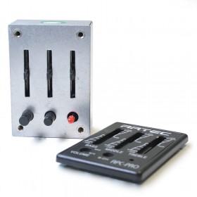 APC-PRO previo ecualizador de 3 bandas con compartimento de batería externo