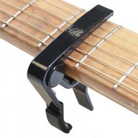 Cejilla / Capo para guitarra acústica (negro curvado)