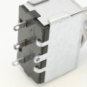 TGB-GD Selector de 3 vías dorado