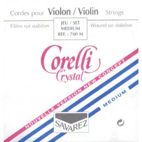 Cuerda Violín Corelly Crystal 3a, Re