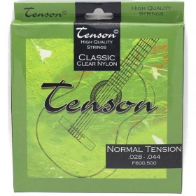 Cuerdas guitarra clásica Tenson Classic Clear Nylon, Tensión Normal