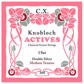Knobloch Actives Double Silver C.X. Medium Tension