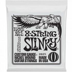 Ernie Ball 8 cuerdas Slinky nickel