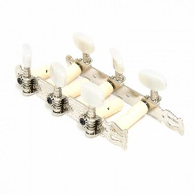 Clavijero Fustero guitarra clásica con lira botones marmorizados